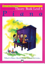 Alfred Alfred's Basic Piano Library Theory Book Level 4