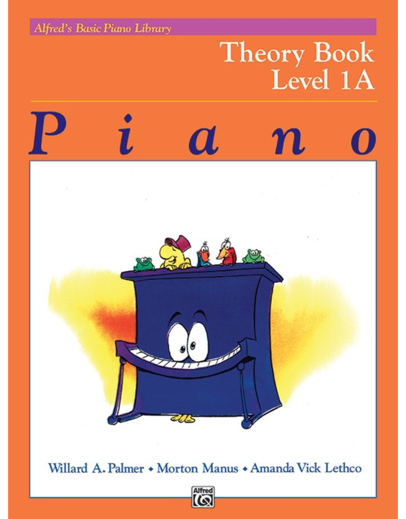 Alfred Alfred's Basic Piano Library Theory Level 1A