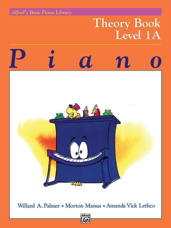 Alfred's Basic Piano Library Theory Level 1A - Bountiful Music