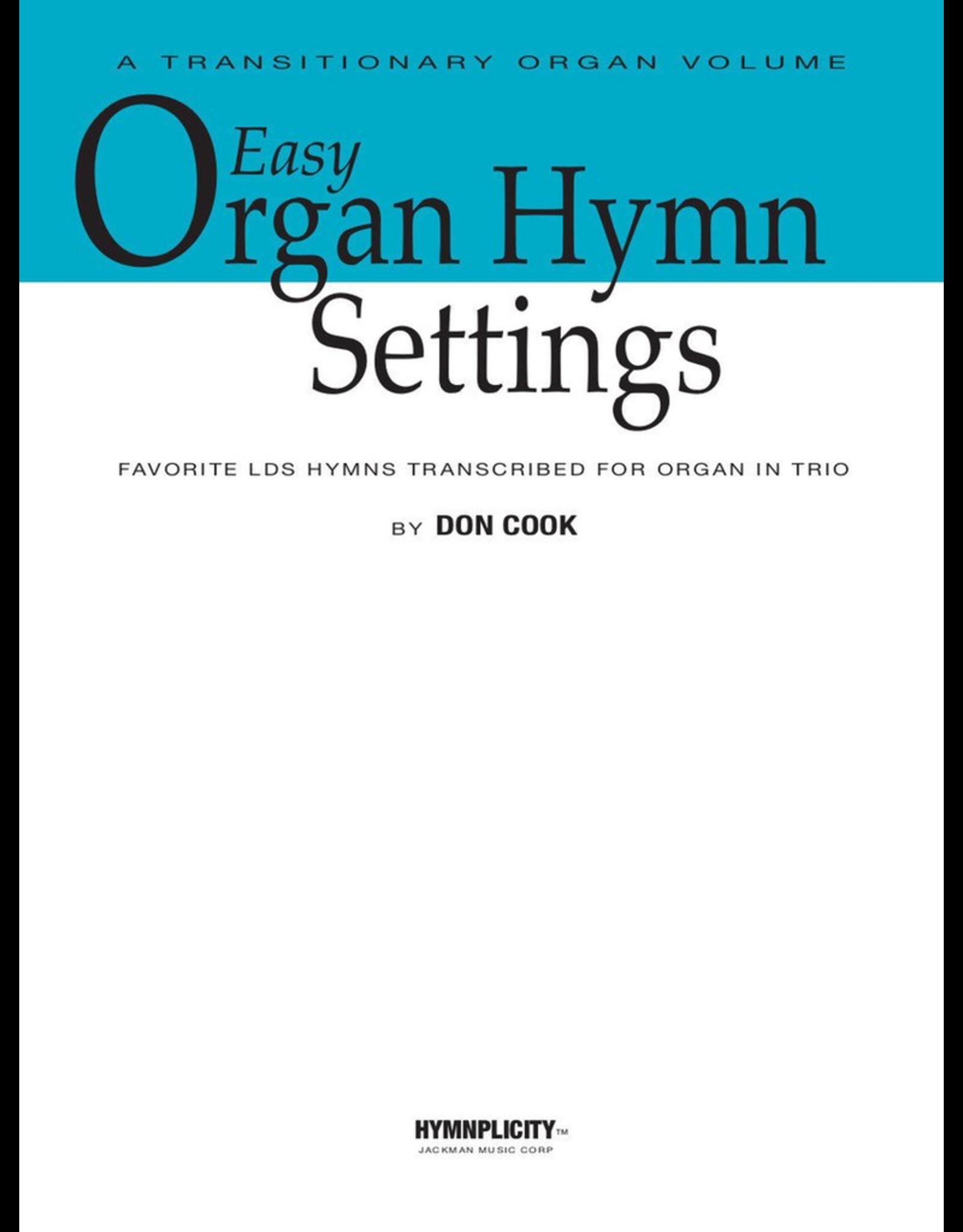 Jackman Music Easy Organ Hymn Settings arr. Don Cook