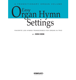 Jackman Music Easy Organ Hymn Settings arr. Don Cook