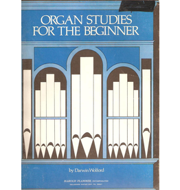 Hal Leonard Organ Studies for the Beginner Darwin Wolford