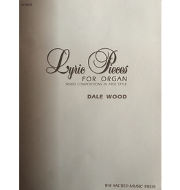Lorenz Lyric Pieces for Organ by Dale Wood