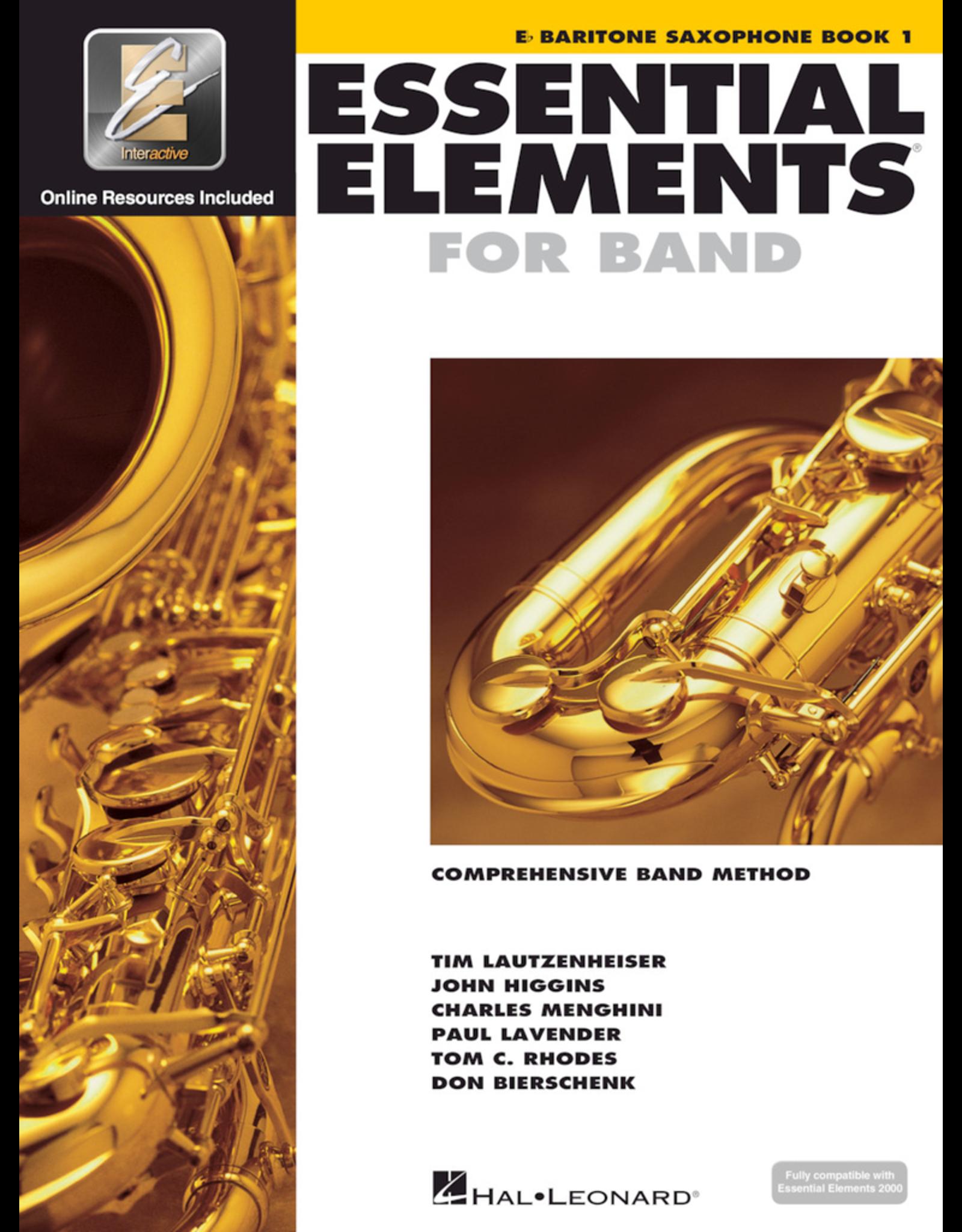 Hal Leonard Essential Elements Book 1 Baritone Sax