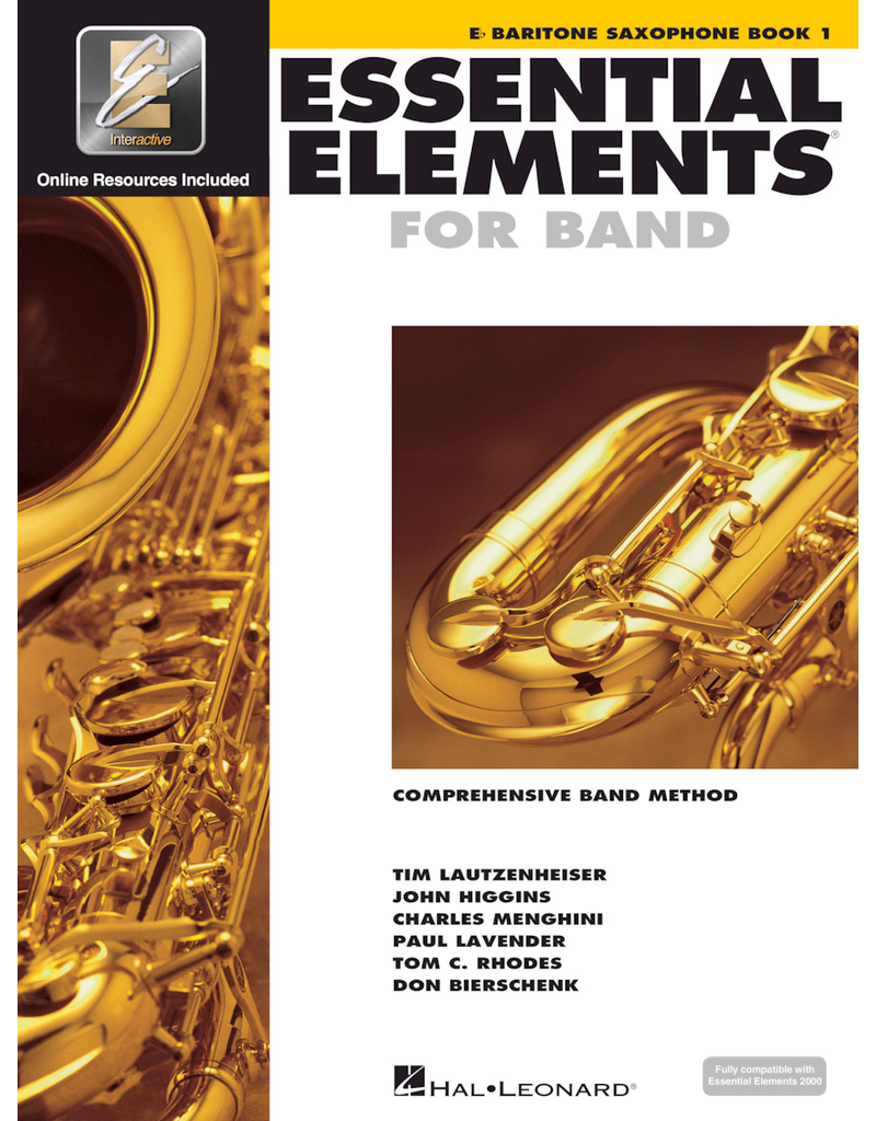 Hal Leonard Essential Elements Book 1 Baritone Sax