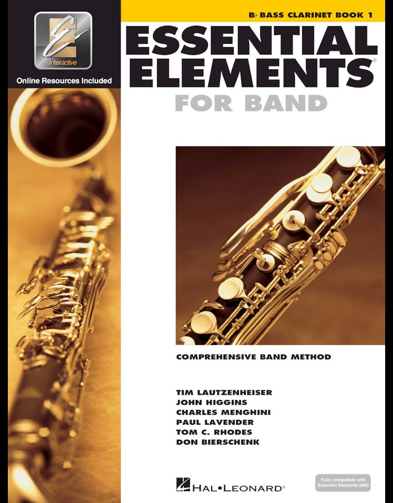 Hal Leonard Essential Elements Book 1 Bass Clarinet