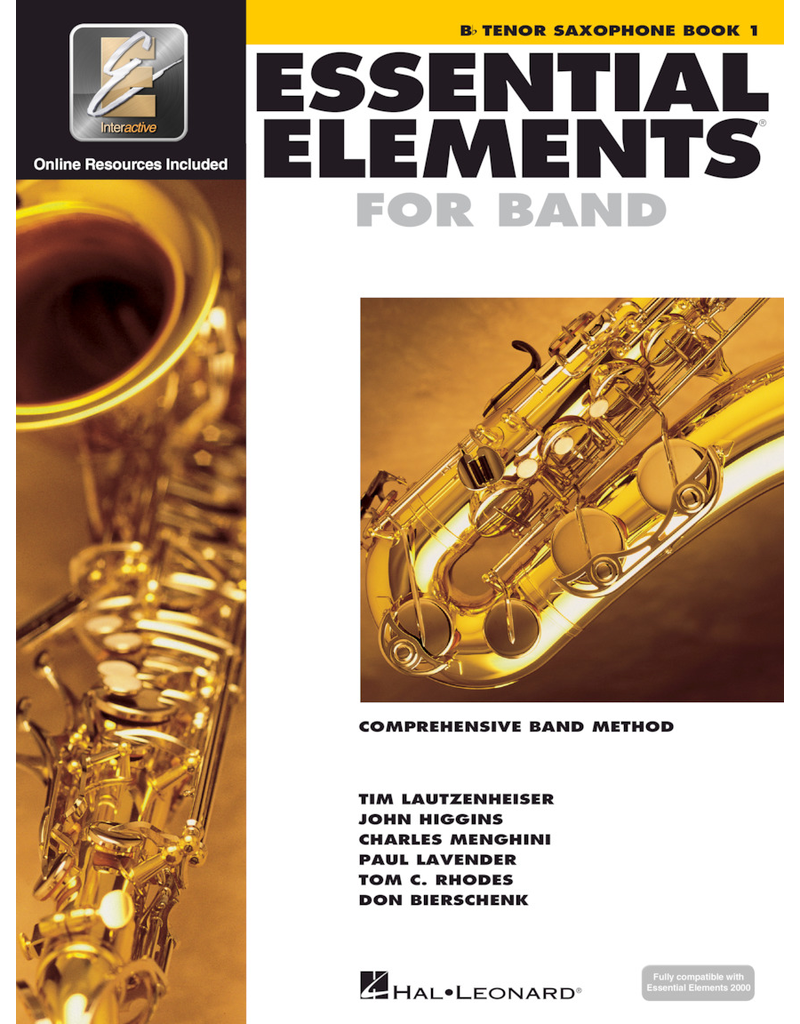Hal Leonard Essential Elements Book 1 Tenor Sax
