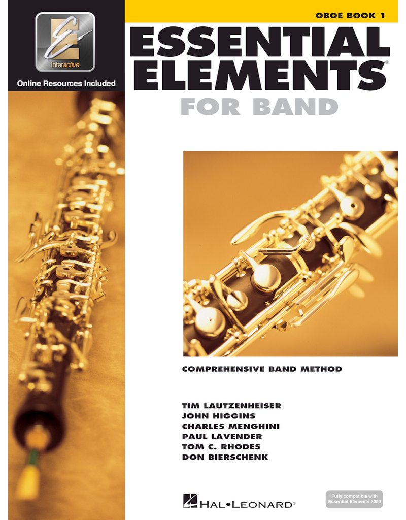 Hal Leonard Essential Elements Book 1 Oboe