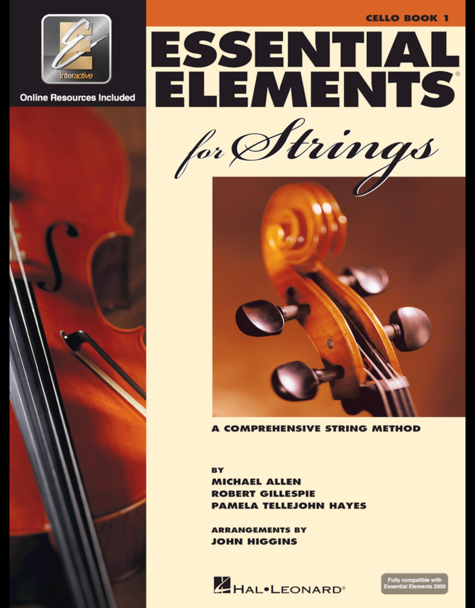 Hal Leonard Essential Elements Cello Book 1