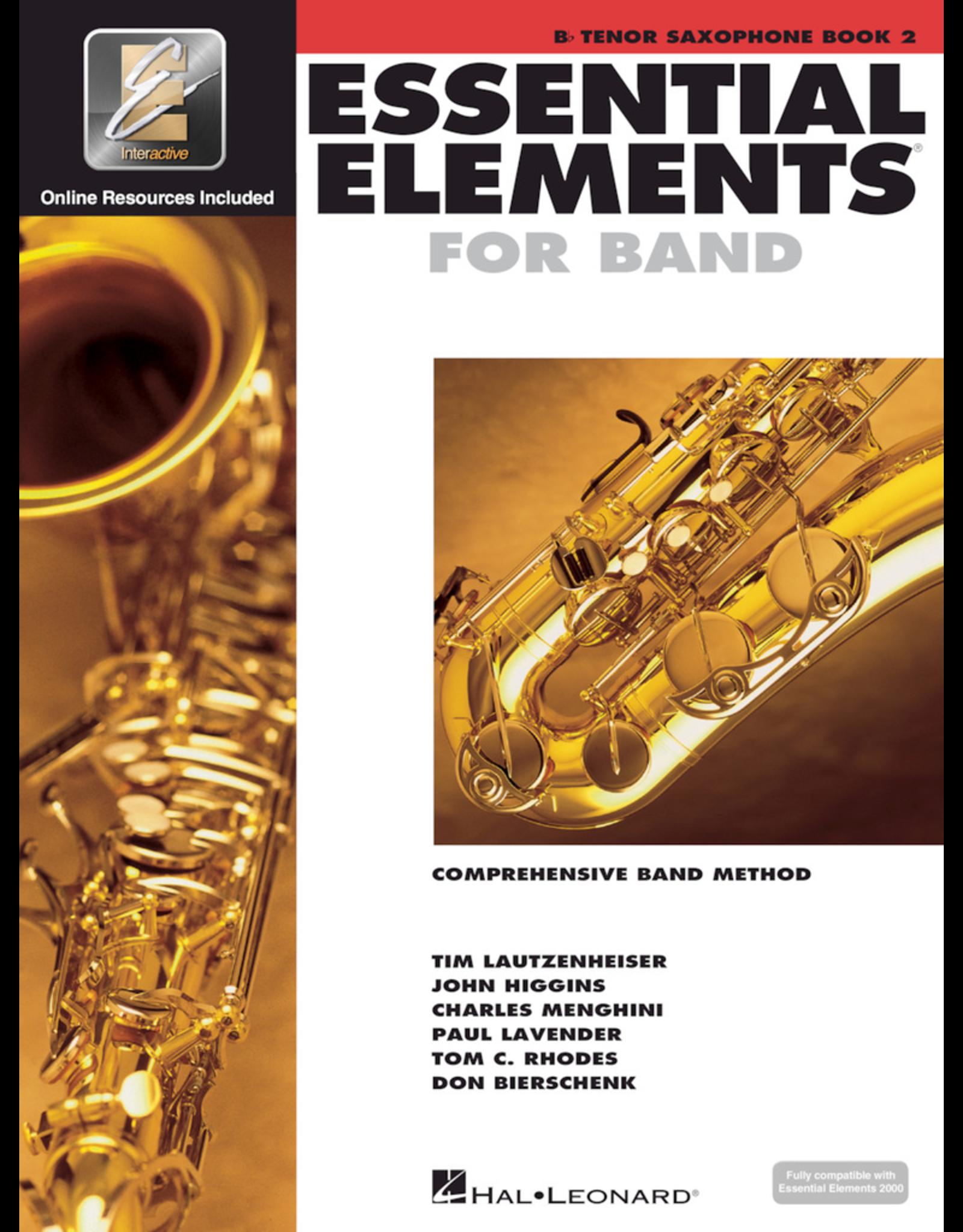 Hal Leonard Essential Elements Book 2 Tenor Sax