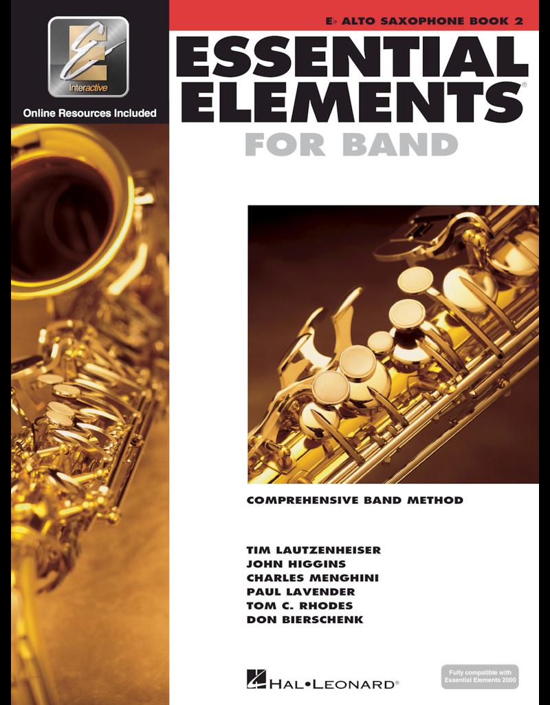 Hal Leonard Essential Elements Book 2 Alto Sax