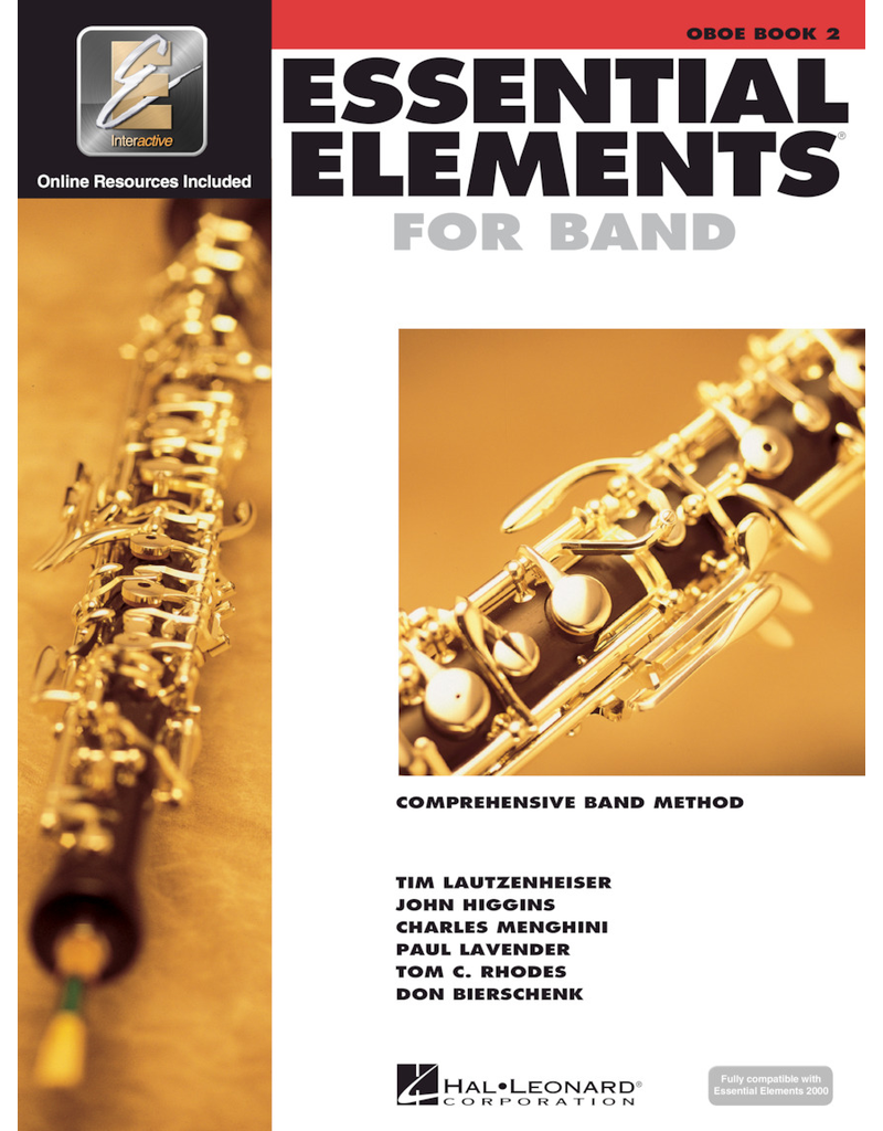 Hal Leonard Essential Elements Book 2 Oboe