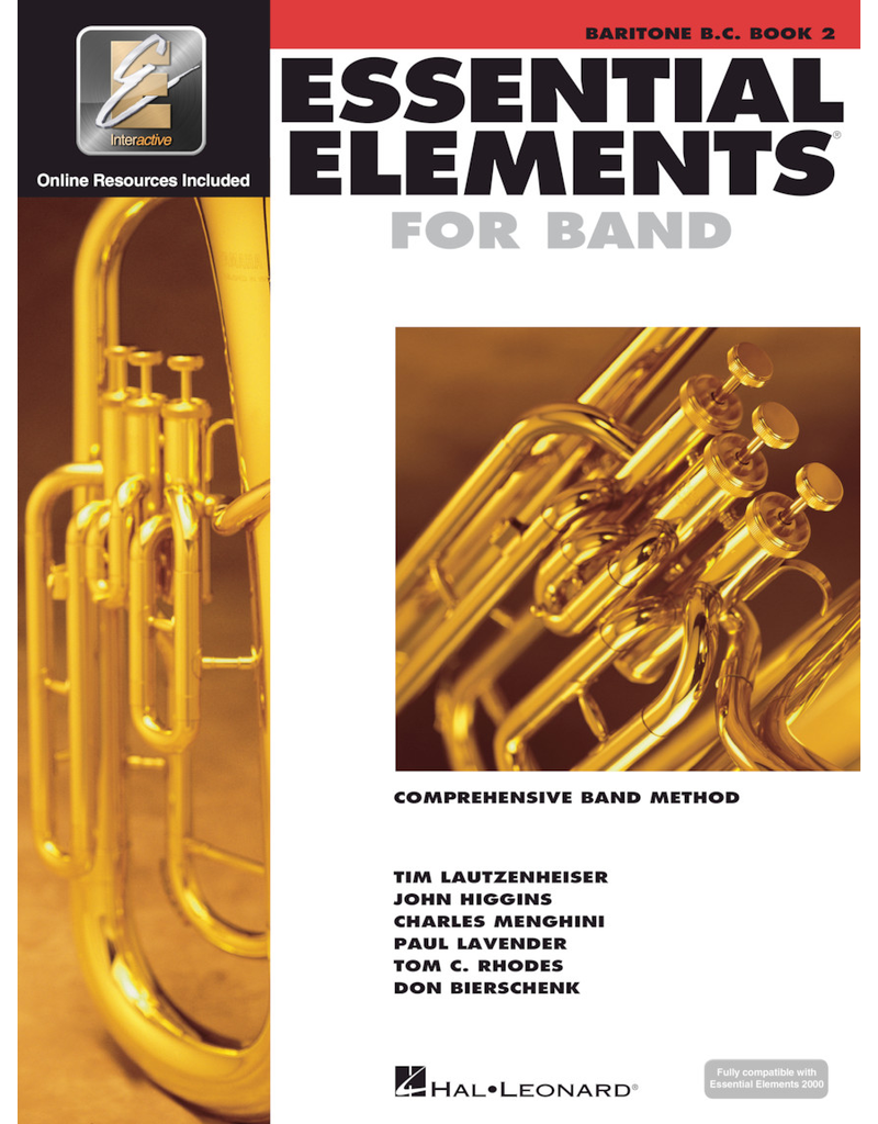 Hal Leonard Essential Elements Book 2 Baritone B.C.