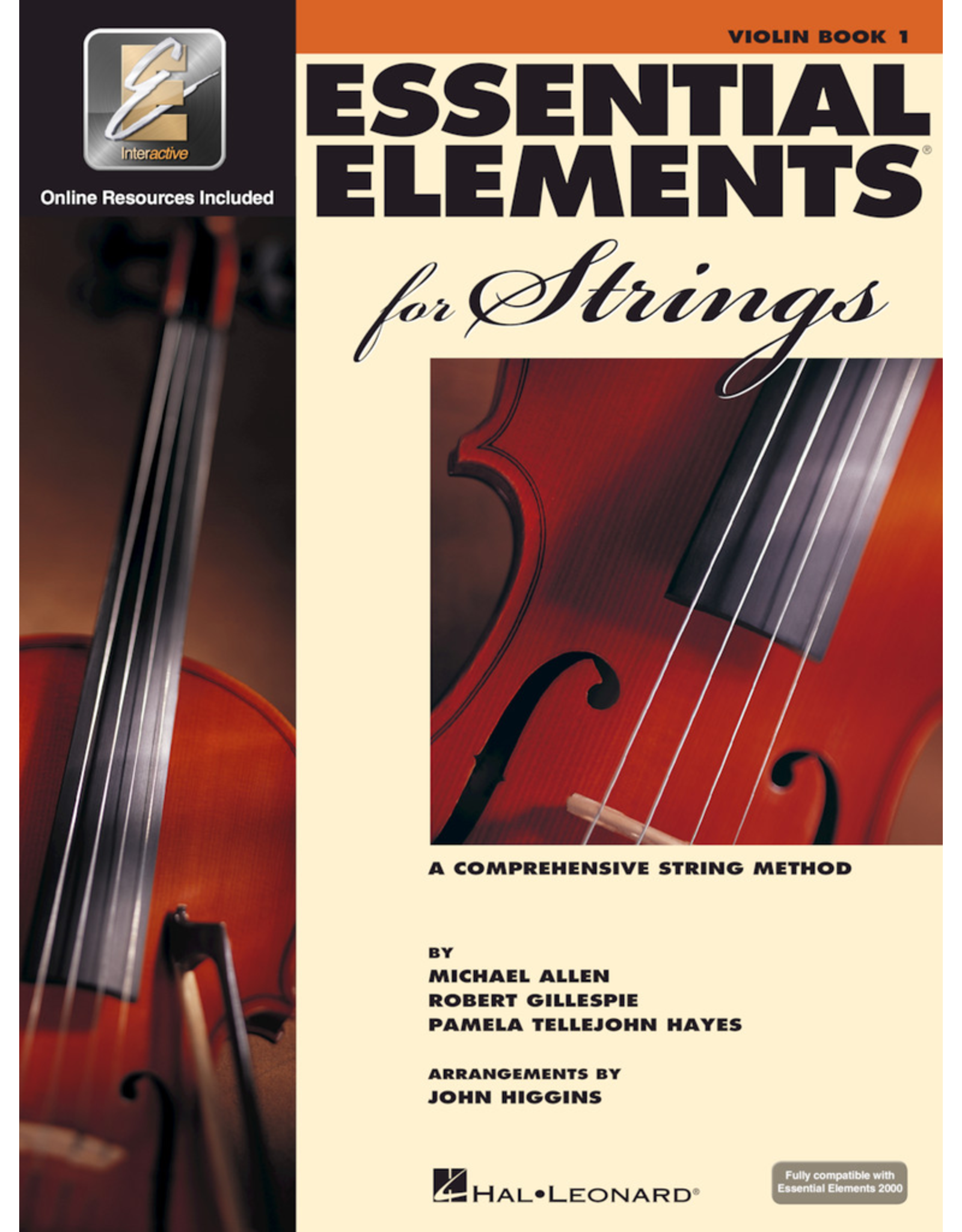 Hal Leonard Essential Elements Book 1 Violin