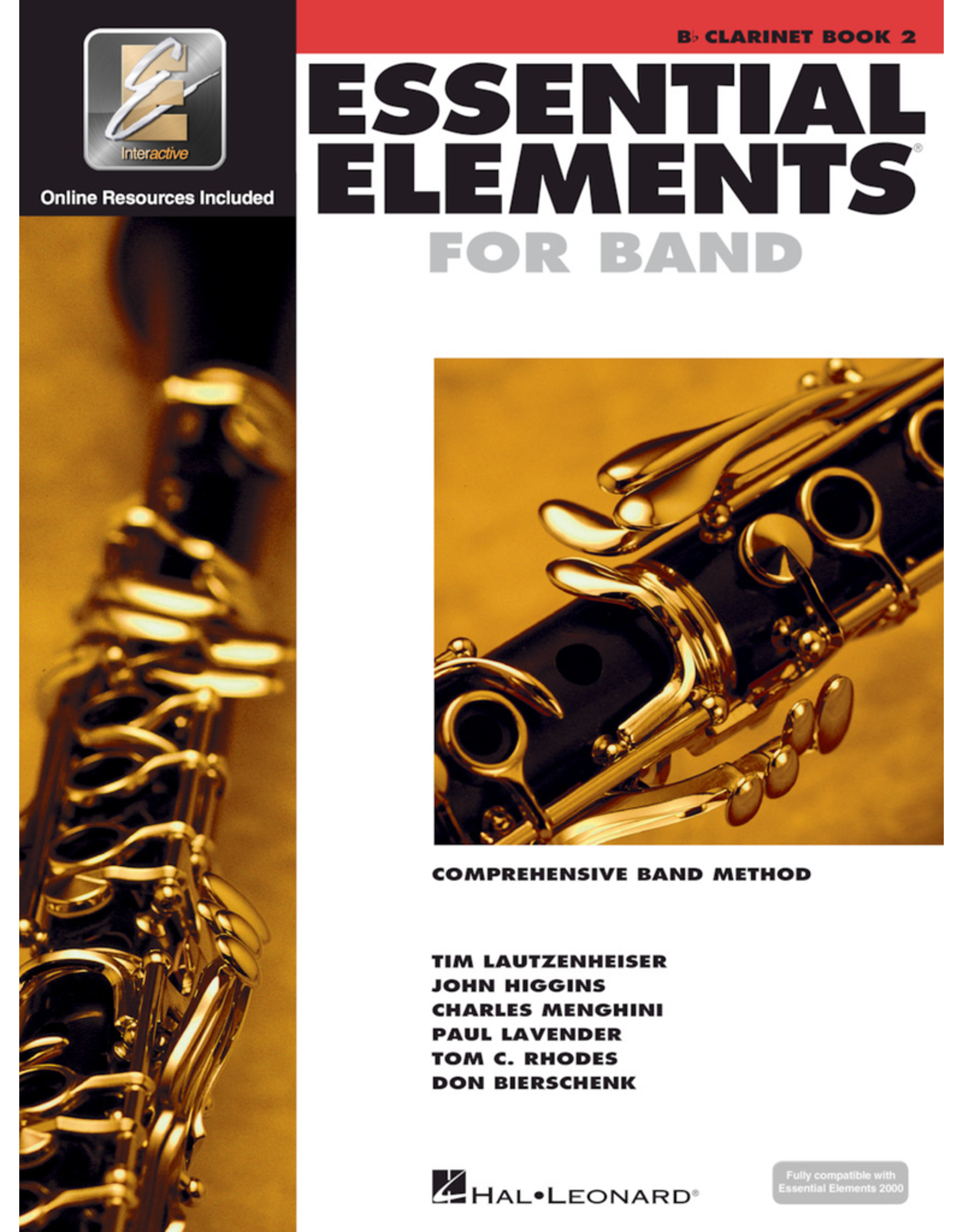 Hal Leonard Essential Elements Book 2 Clarinet