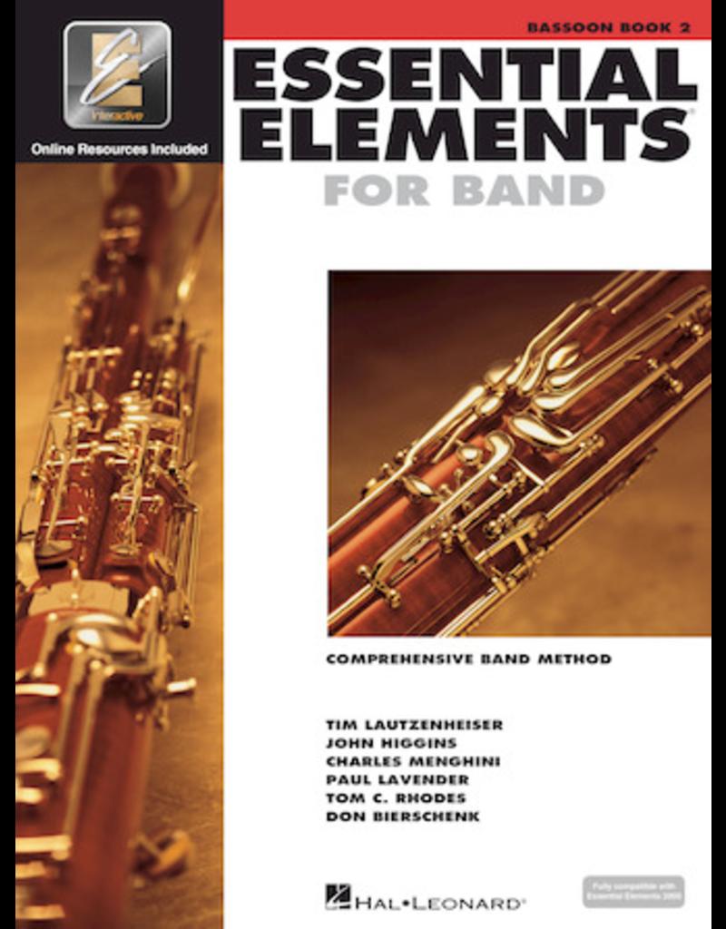 Hal Leonard Essential Elements Book 2 Bassoon