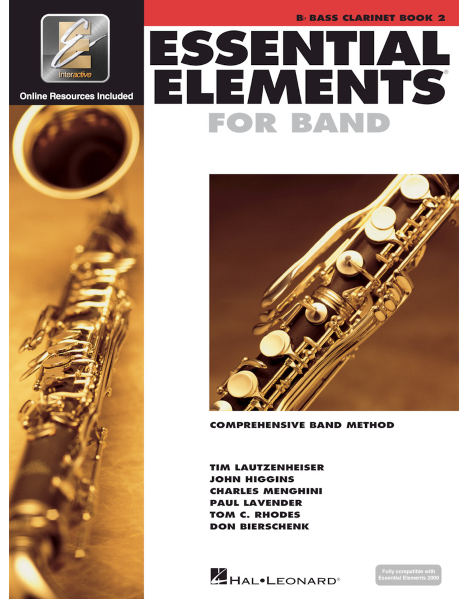 Hal Leonard Essential Elements Book 2 Bass Clarinet