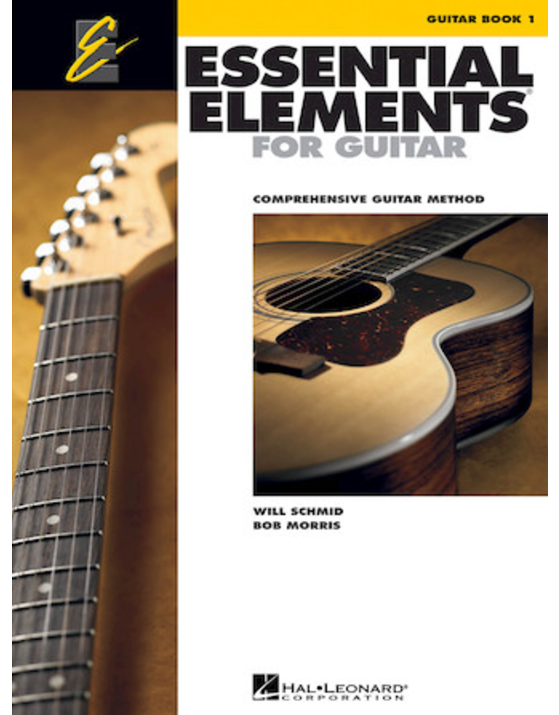 Hal Leonard Essential Elements Guitar Book 1