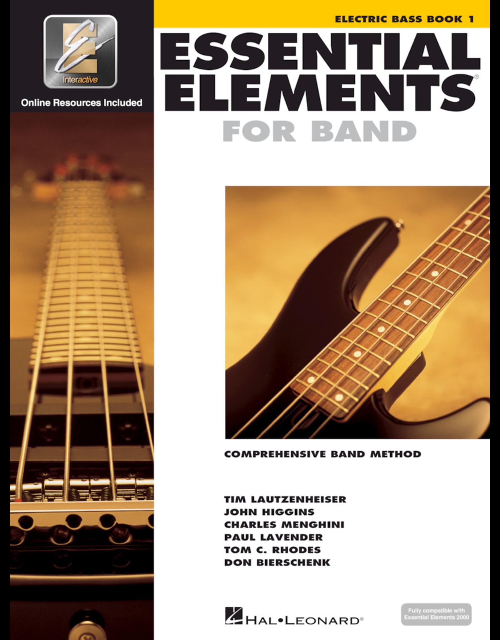 Hal Leonard Essential Elements Book 1 Electric Bass