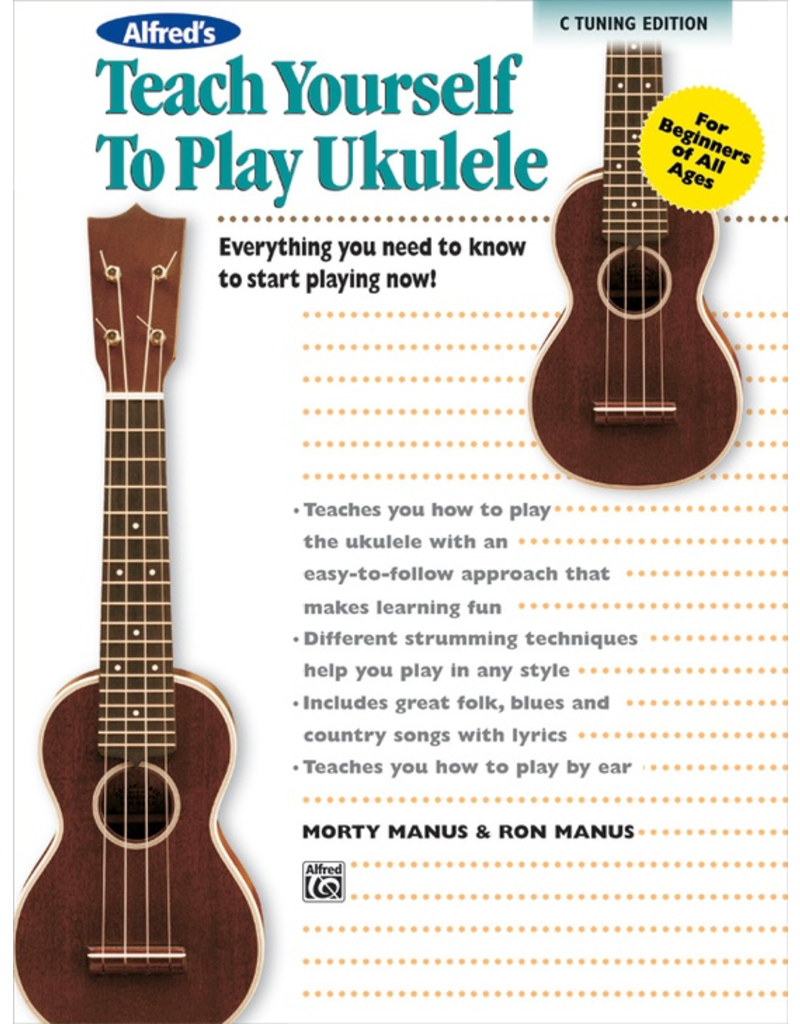Alfred Alfred's Teach Yourself to Play Ukulele C-Tuning Edition