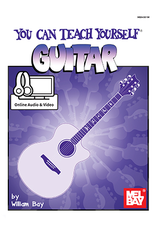 Mel Bay You Can Teach Yourself Guitar with Online Audio/Video