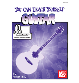 Mel Bay Publications, Inc. You Can Teach Yourself Guitar with Online Audio
