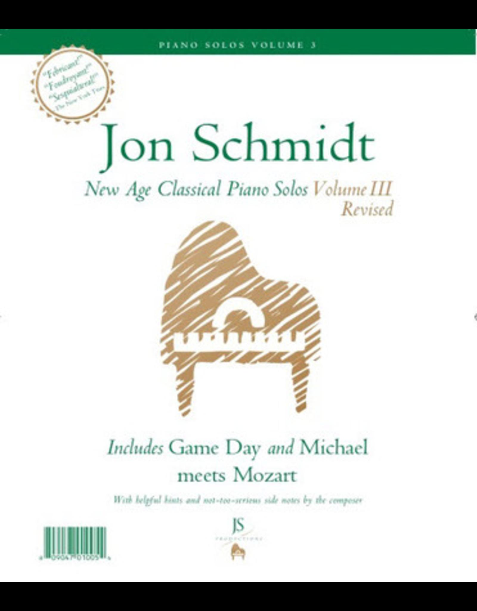 Jon Schmidt Music Jon Schmidt New Age Classical Piano Solos Volume 3