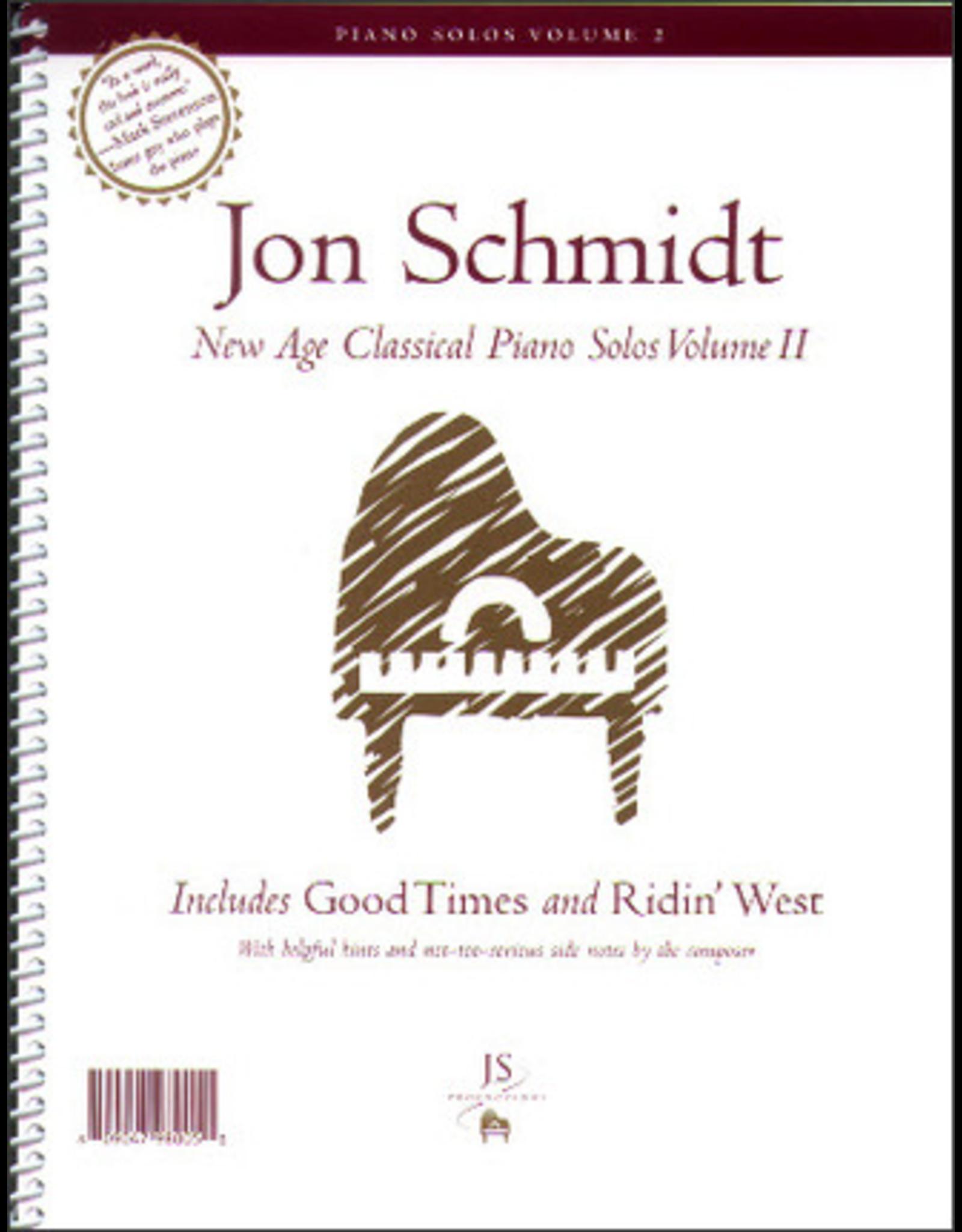 Jon Schmidt Music Jon Schmidt New Age Classical Piano Solos Volume 2.