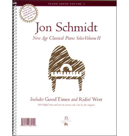 Jon Schmidt Music Jon Schmidt New Age Classical Piano Solos Volume 2.