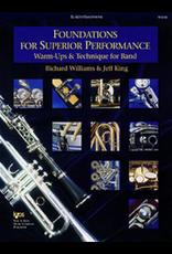 Kjos Foundations for Superior Performance for Alto Sax