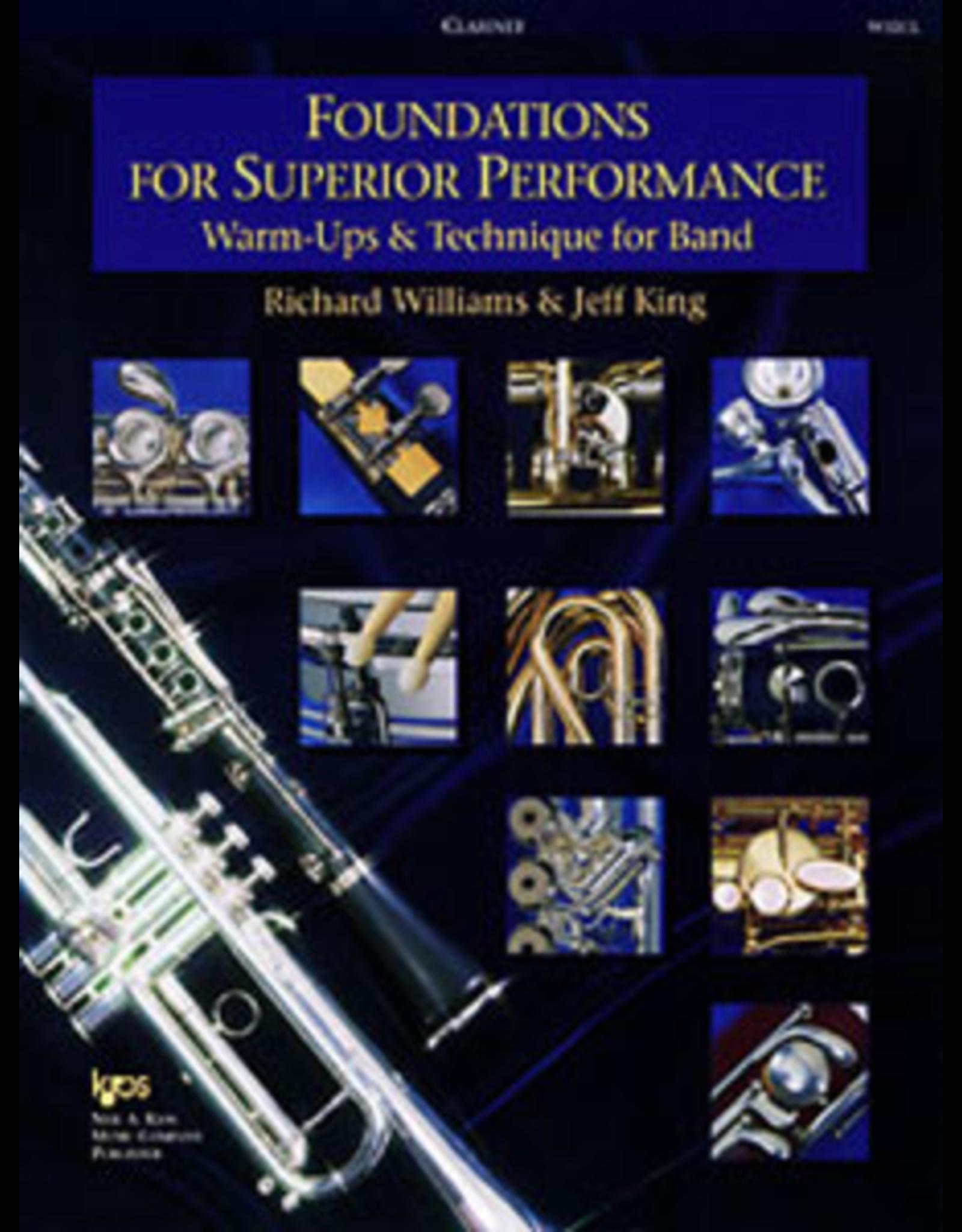 Kjos Foundations For Superior Performance, Clarinet