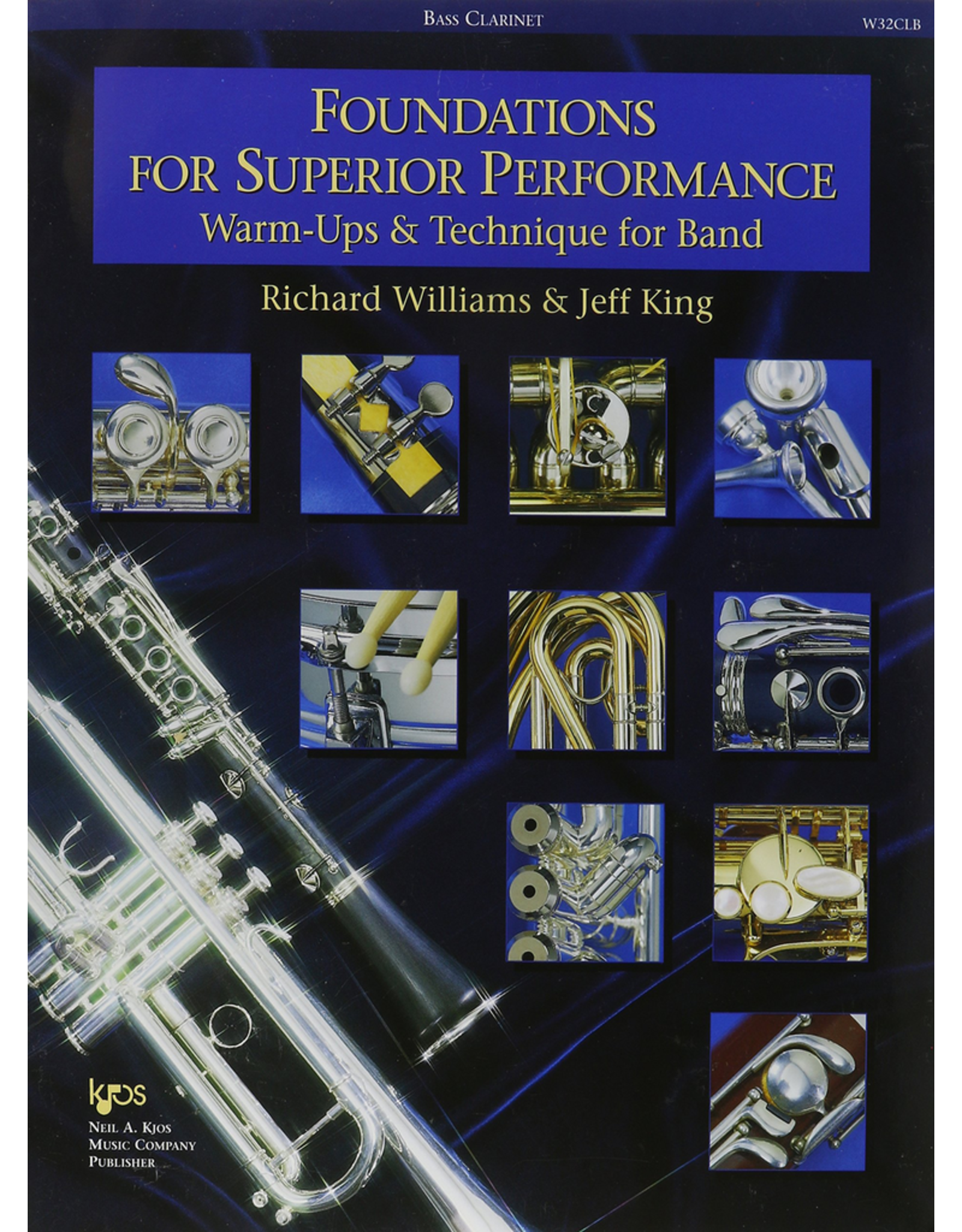 Kjos Foundations for Superior Performance, Bass Clarinet