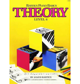 Kjos Bastien Piano Basics, Theory Level 4