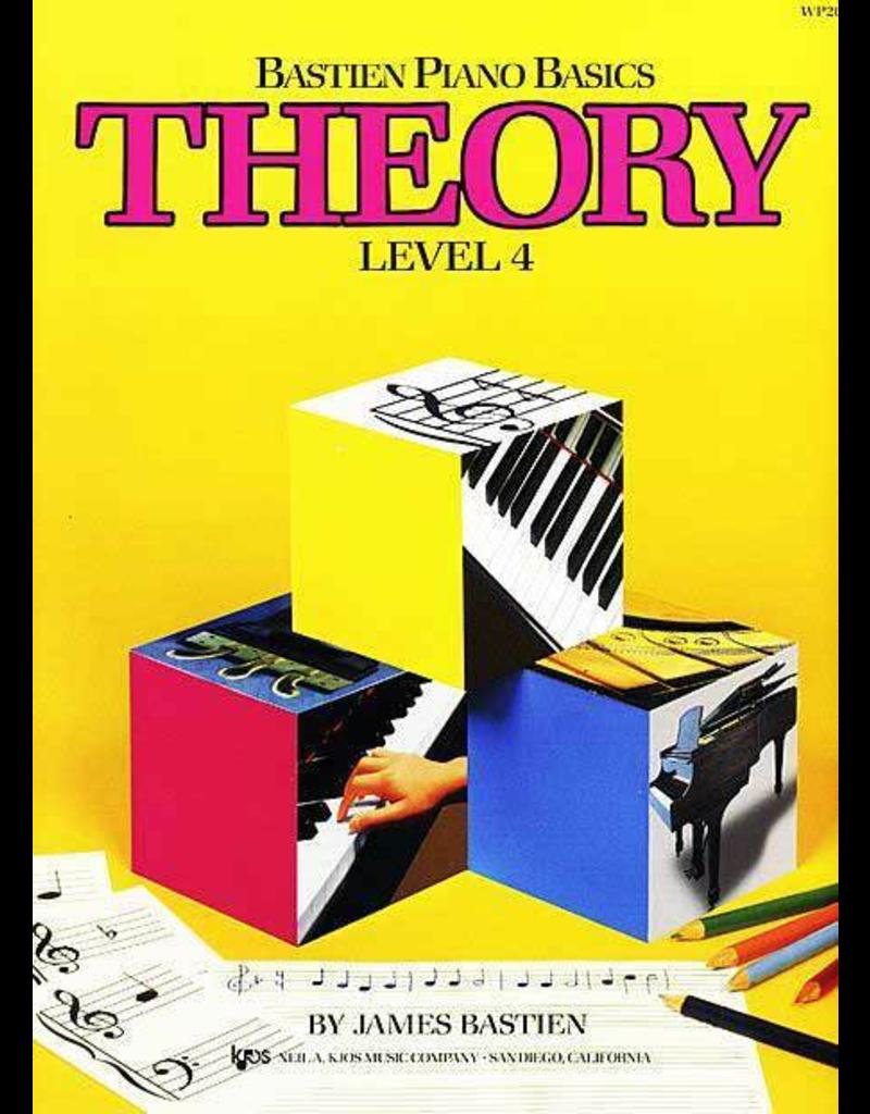 Kjos Bastien Piano Basics, Theory Level 4