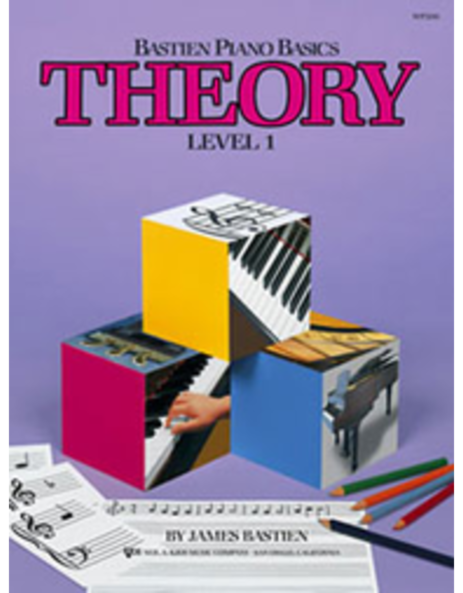 Kjos Bastien Piano Basics, Theory Level 1