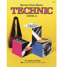 Kjos Bastien Piano Basics, Technic Level 4