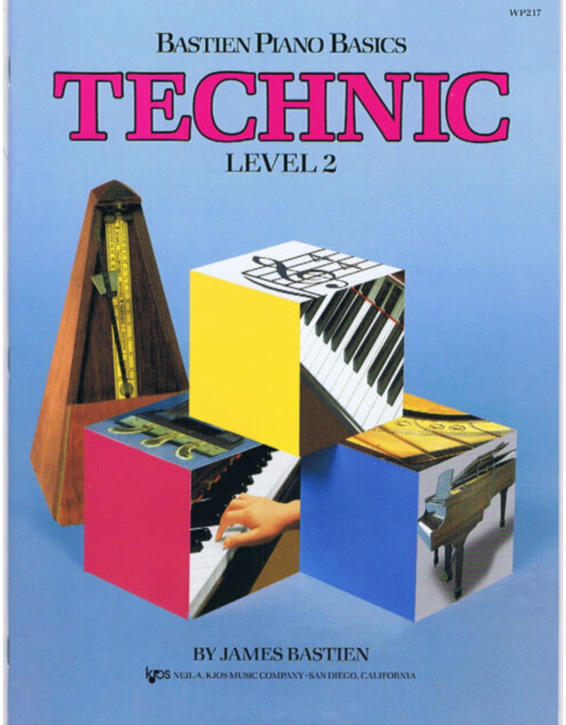 Kjos Bastien Piano Basics, Technic Level 2