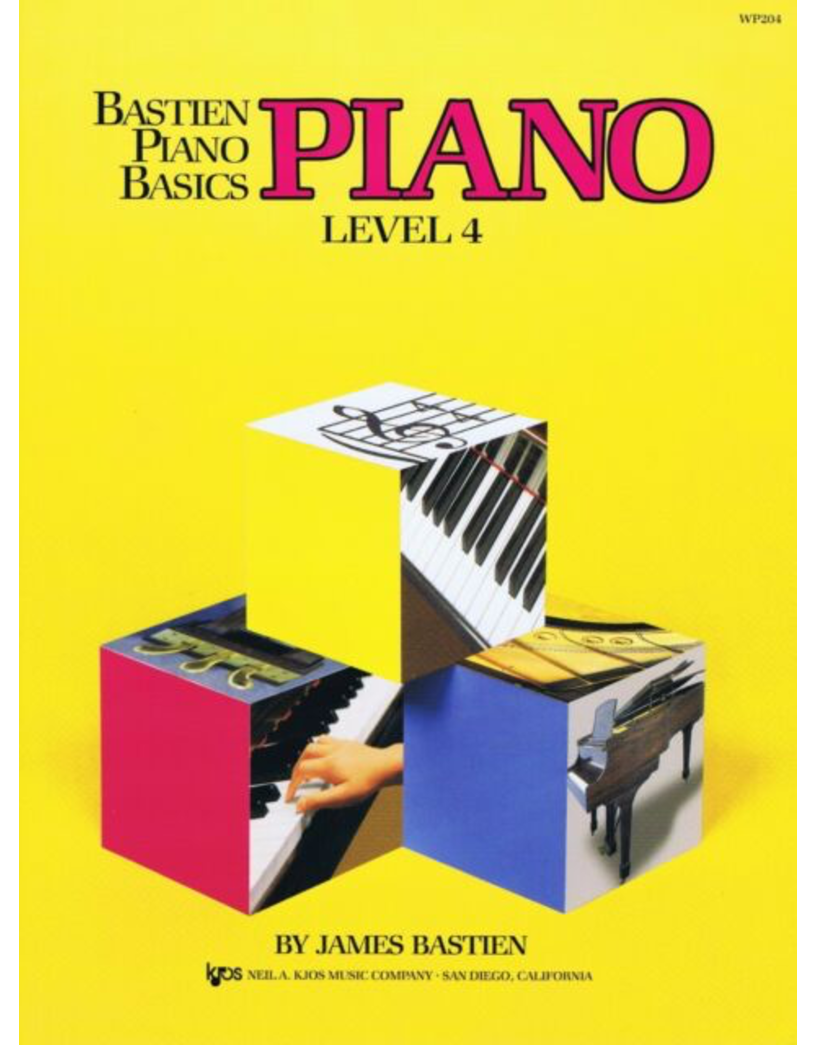 Kjos Bastien Piano Basics, Piano Level 4