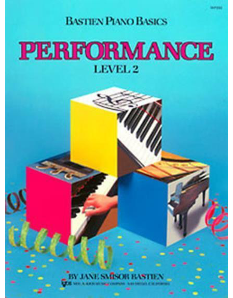 Kjos Bastien Piano Basics, Performance Level 2