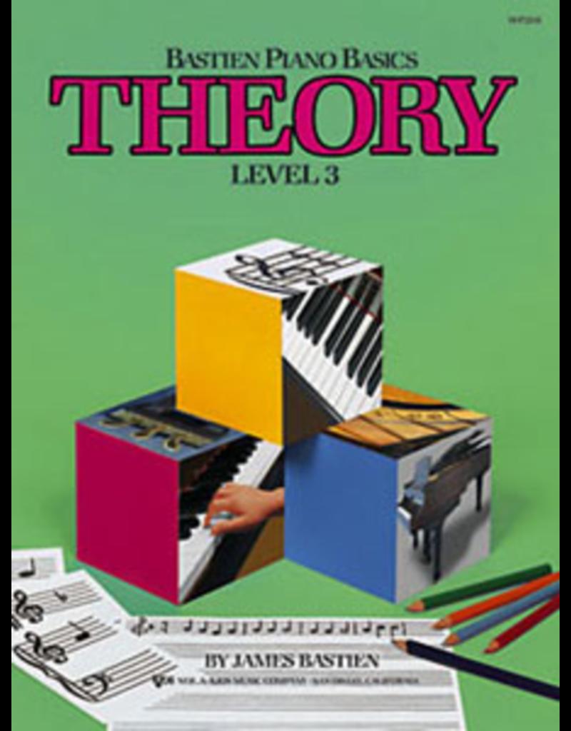 Kjos Bastien Piano Basics, Theory Level 3
