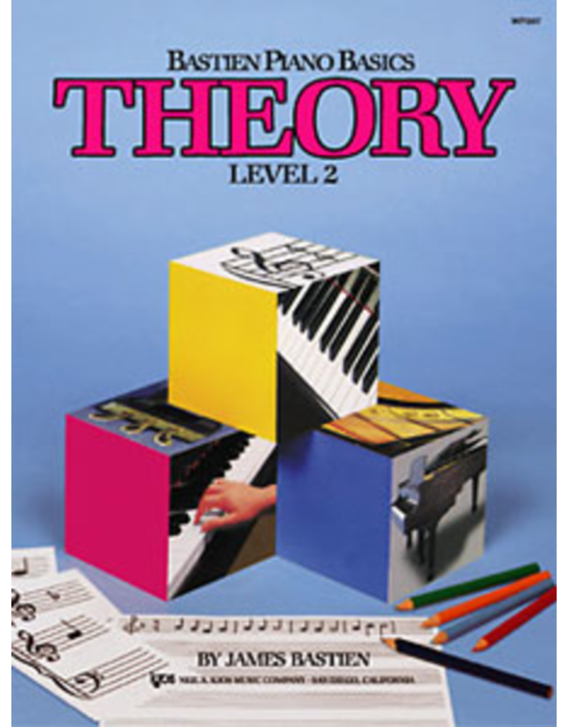 Kjos Bastien Piano Basics, Theory Level 2