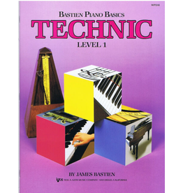 Kjos Bastien Piano Basics, Technic Level 1