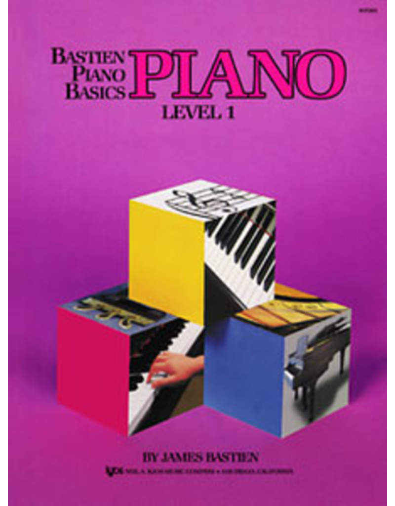 Kjos Bastien Piano Basics, Piano Level 1