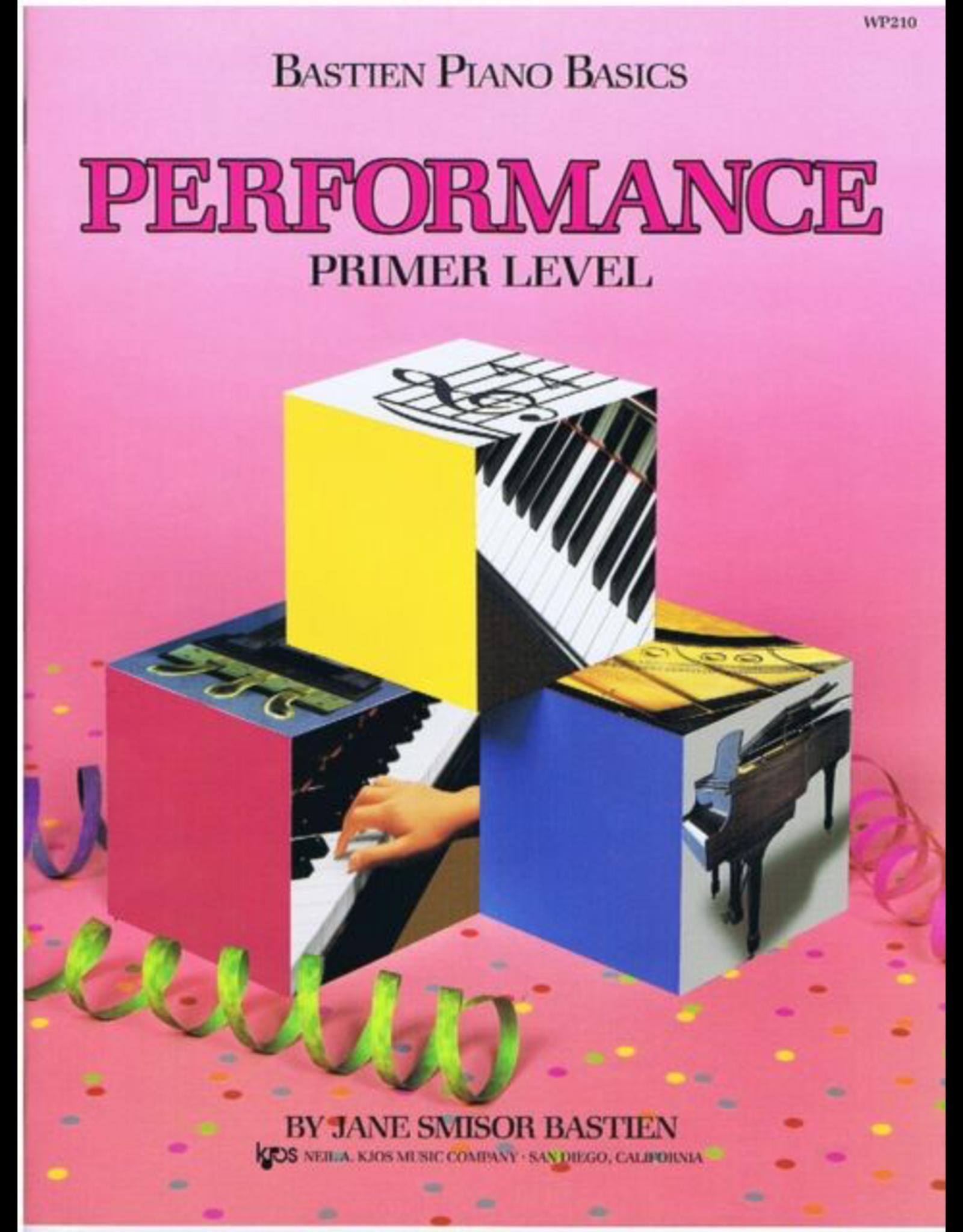 Kjos Bastien Piano Basics, Primer, Performance