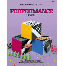 Kjos Bastien Piano Basics, Performance Level 1