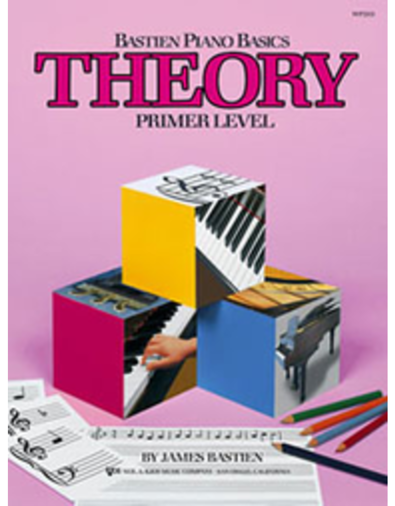 Kjos Bastien Piano Basics Theory Primer Level