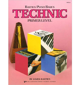 Kjos Bastien Piano Basics, Technic Primer Level