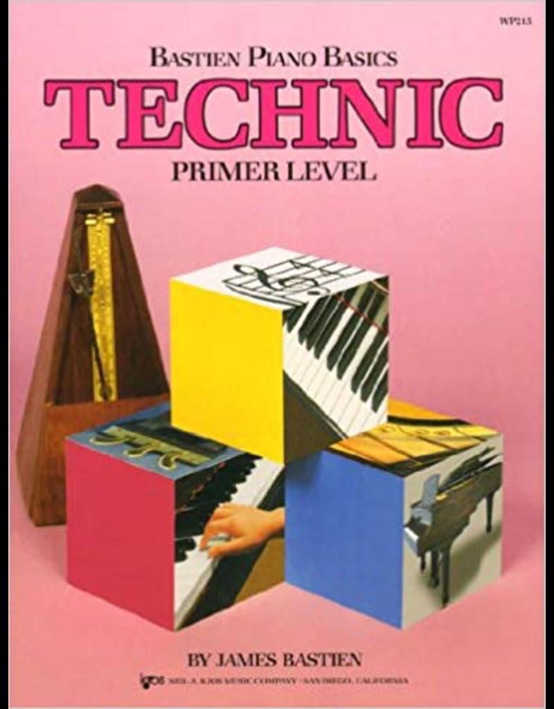 Kjos Bastien Piano Basics, Technic Primer Level