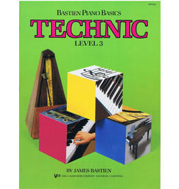 Kjos Bastien Piano Basics, Technic Level 3