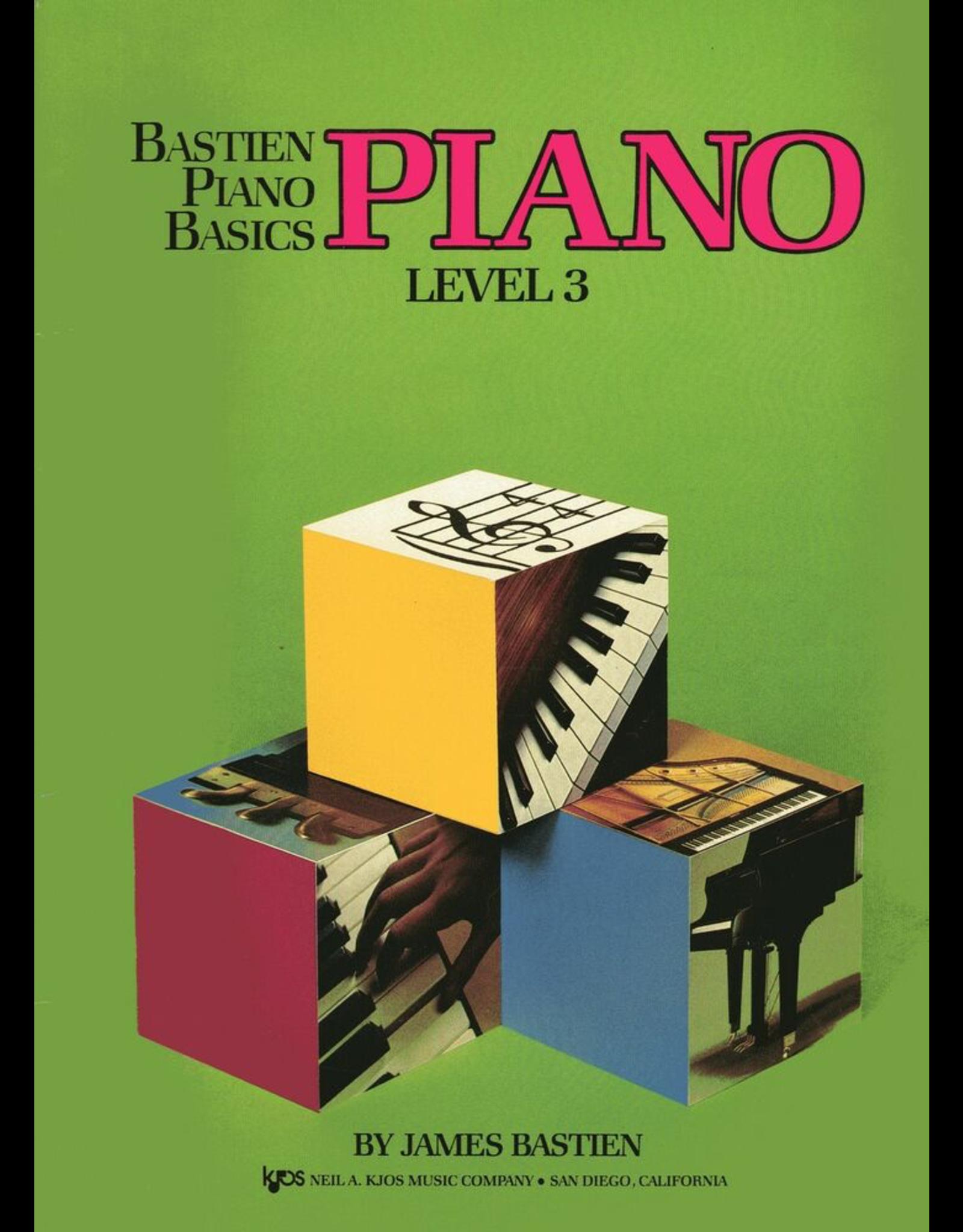 Kjos Bastien Piano Basics, Piano Level 3